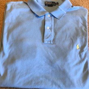 Light blue 2XT men's short sleeve Polo shirt